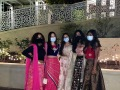 """Having a backyard celebration for Diwali with masks."" — Diya Kochar, 10"